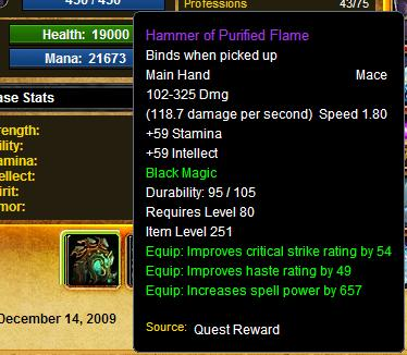 how to get battered hilt quest