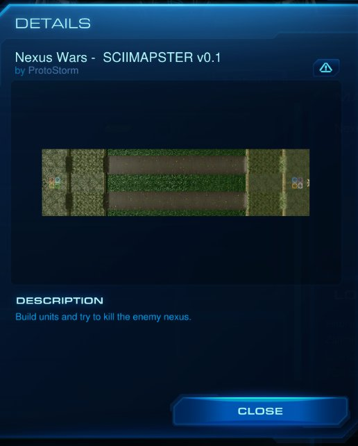 Nexus Wars Map – Starcraft 2 | Pugnacious Priest's Warcraft Blog